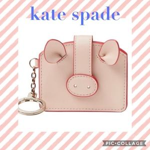 Kate Spade ♠️ year of the pig 🐽 card case